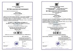 川井电气-通过CE证书-出口专用